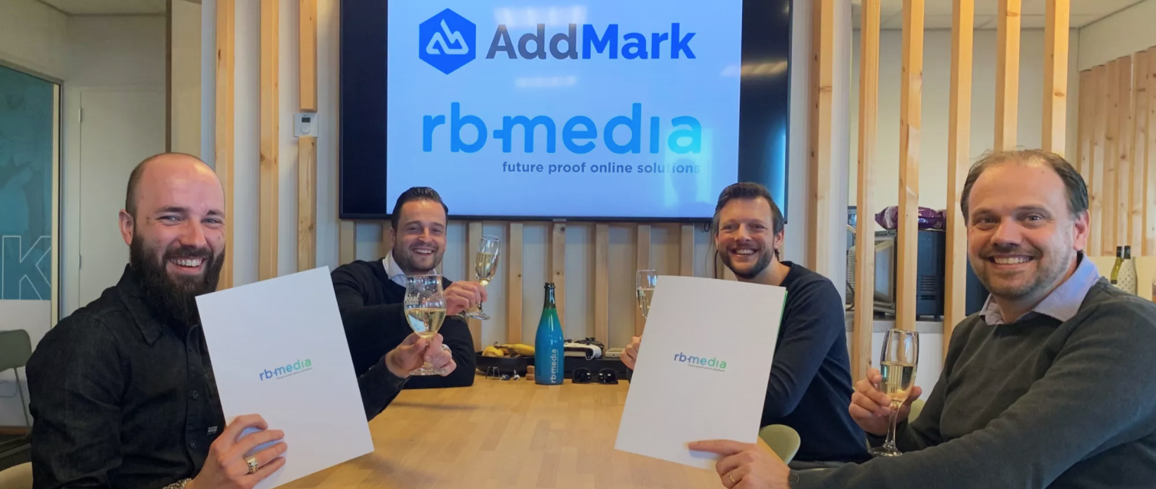 AddMark slaat de handen ineen met internetbureau RB-Media uit Breda