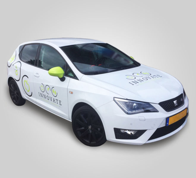 Innovate Personal Training Carwrap